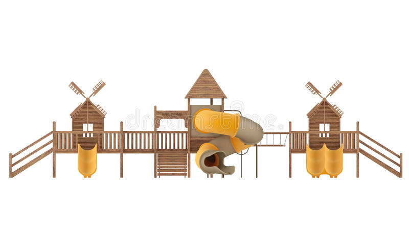 Download Playground isolated stock illustration. Image of playground - 37781548