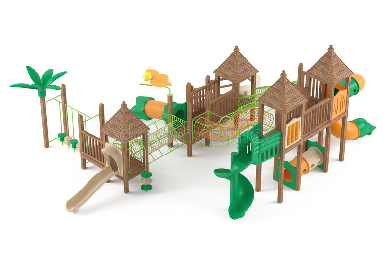 Download Playground isolated stock illustration. Image of garden - 37782054