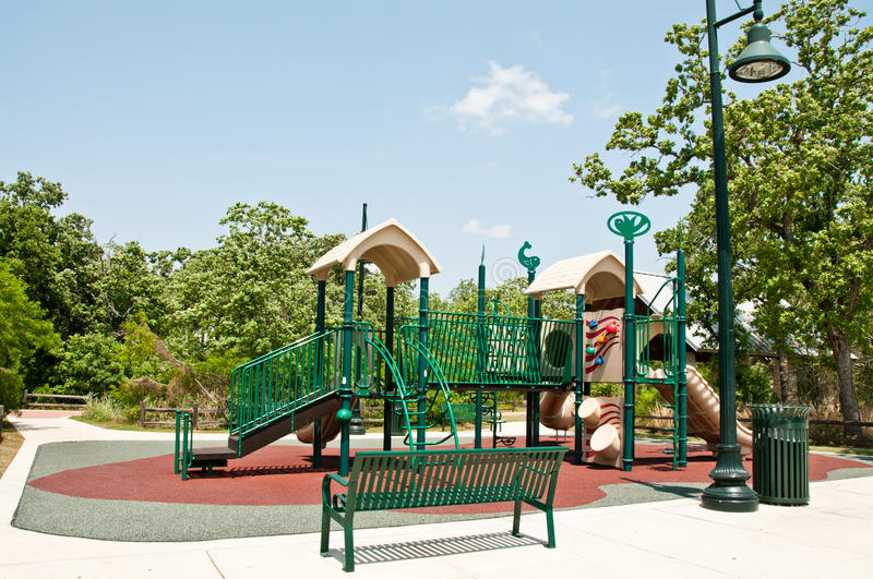 Playground Jungle Gym stock photography