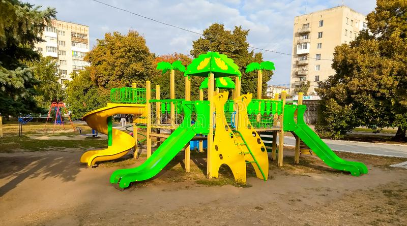 Playground Park immagini stock