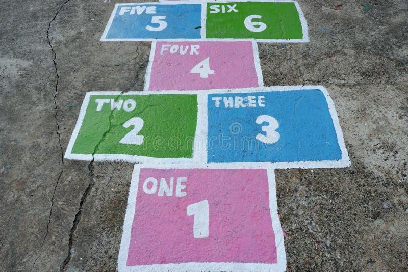 Playground, per i bambini fotografia stock libera da diritti