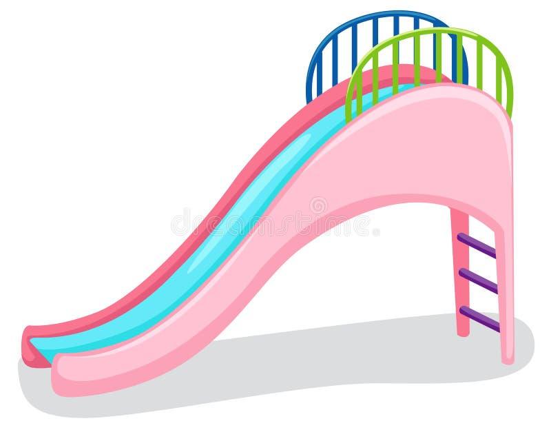 Playground slide royalty free illustration