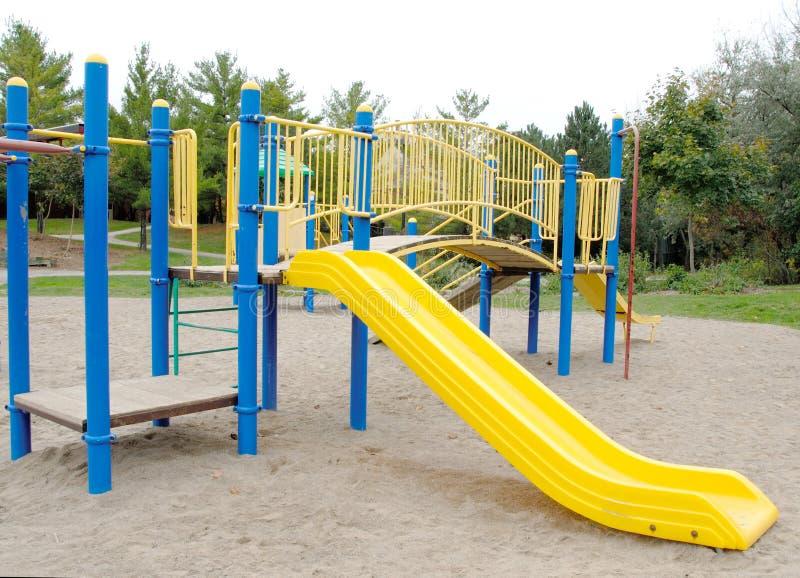 Playground Slide stock photos