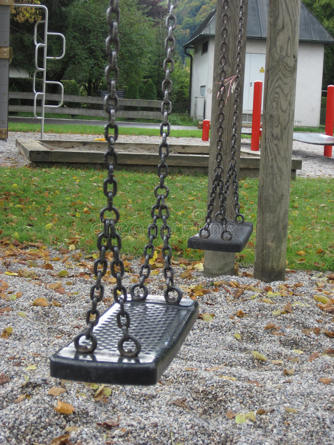Download Playground Swing Set. Selective Focus. Stock Image - Image: 38220721
