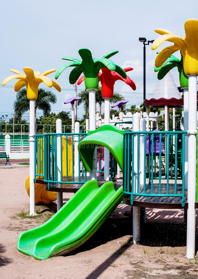 Download Playgrounds stock photo. Image of recreation, outdoor - 33873724