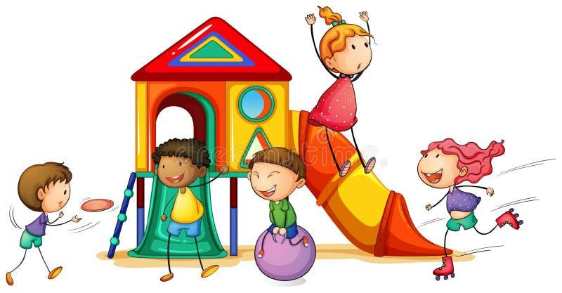 playhouse royalty-vrije illustratie