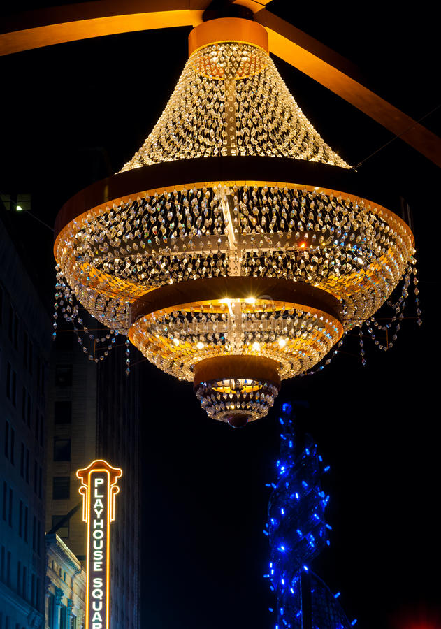 Playhouse Chandelier Editorial Photo - Image: 64946421