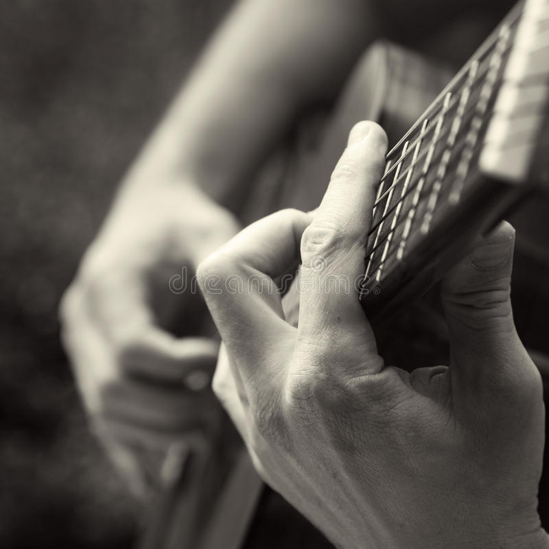 Download Playing acoustic guitar stock photo. Image of playing - 10124186