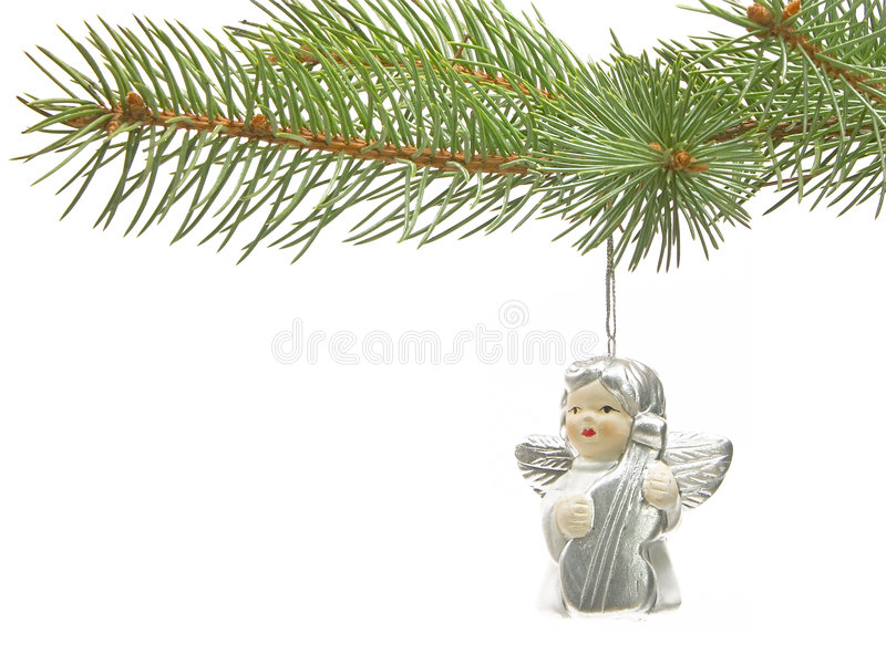 Download Playing angel stock image. Image of festive, white, christmas - 336645