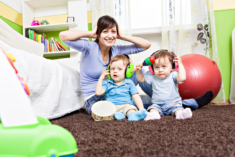 Download Playing baby stock image. Image of mother, toddler, healthy - 25749463