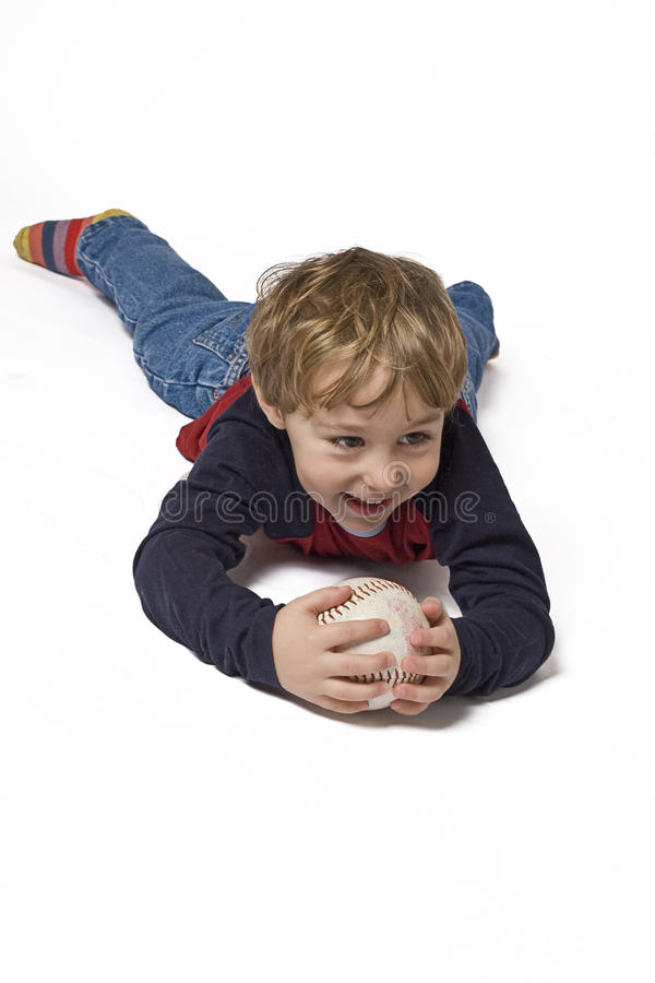 Download Playing with ball stock image. Image of softball, children - 10376723
