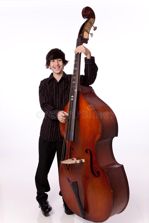 Download Playing bass stock image. Image of stares, staring, bass - 22014399
