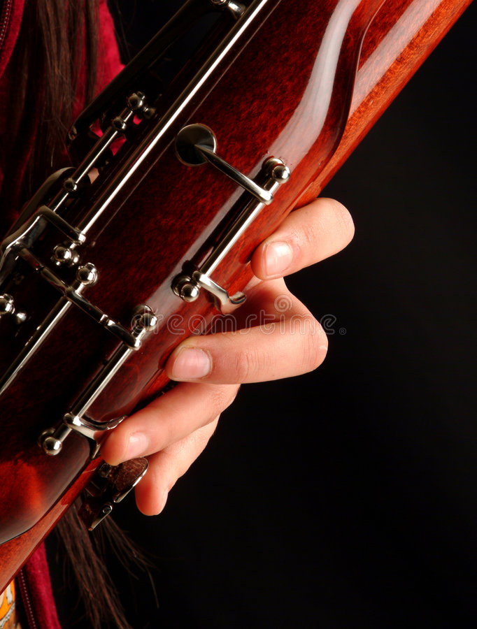 Download Playing bassoon stock photo. Image of brown, woodwind, wind - 854732