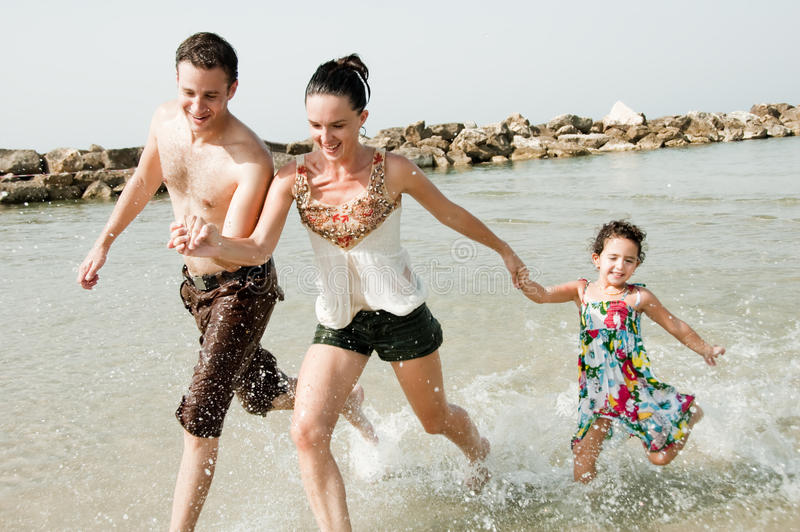 Download Playing  In The Beach Royalty Free Stock Photography - Image: 11614917