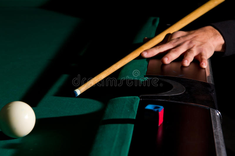 Download Playing billiards stock photo. Image of snooker, cloth - 17743470