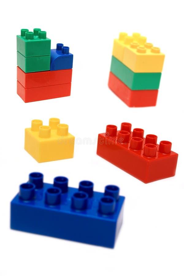 Playing blocks royalty free stock image