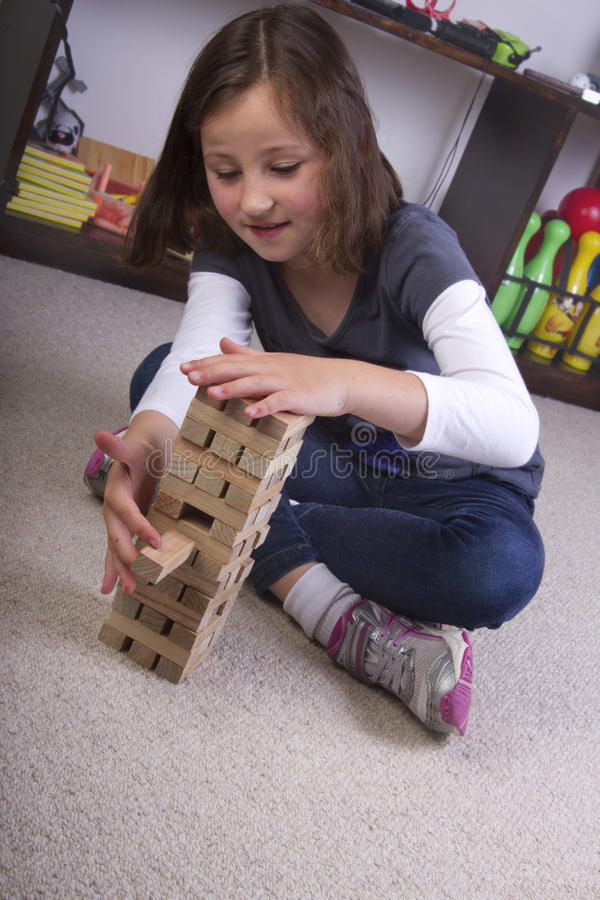 Download Playing With Building Blocks Stock Image - Image: 21431087