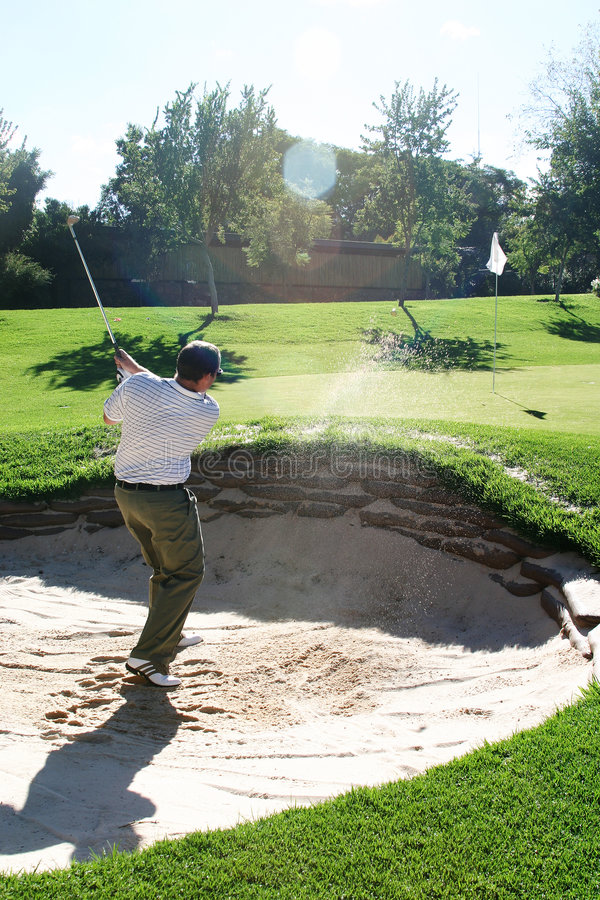 Playing from the bunker