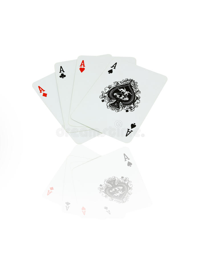 Playing card royalty free stock photography