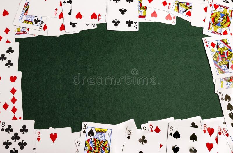 Playing-Card Frame stock image