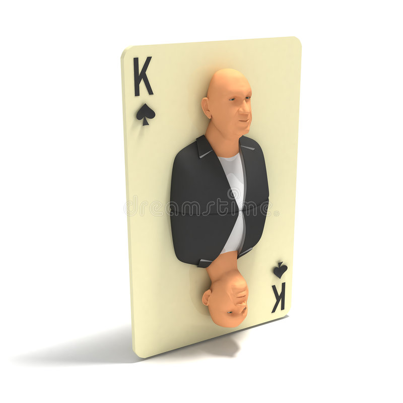 Download Playing Card: King Of Spades Stock Illustration - Image: 4123491