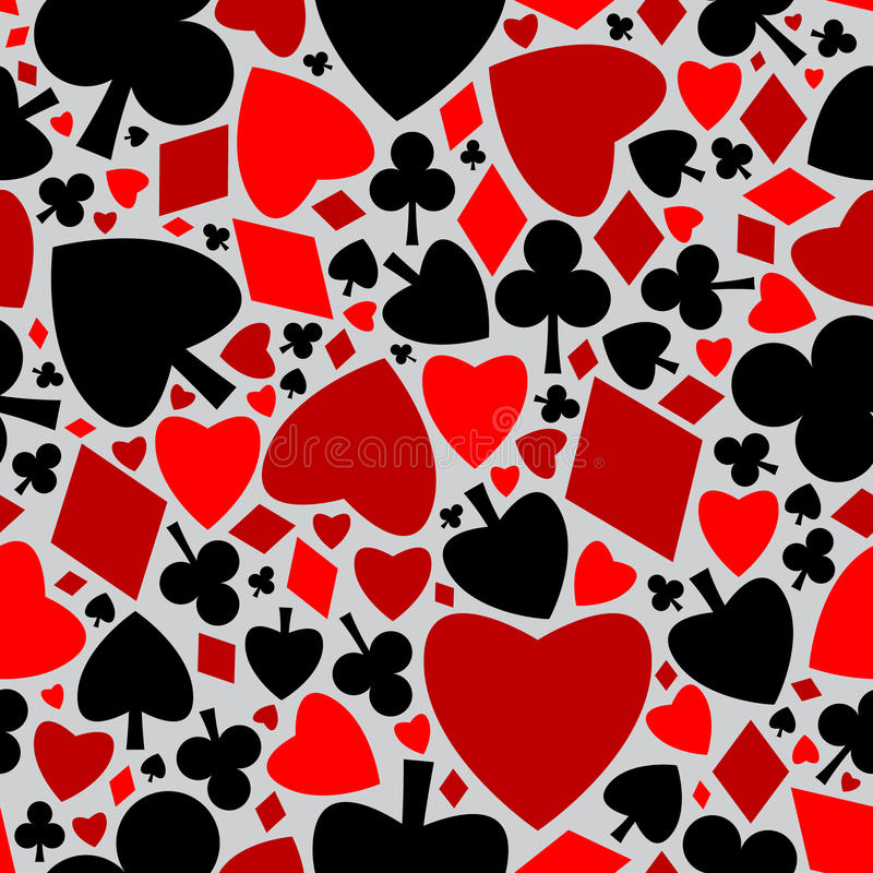 Download Playing Card Seamless Pattern Stock Vector - Image: 14858688