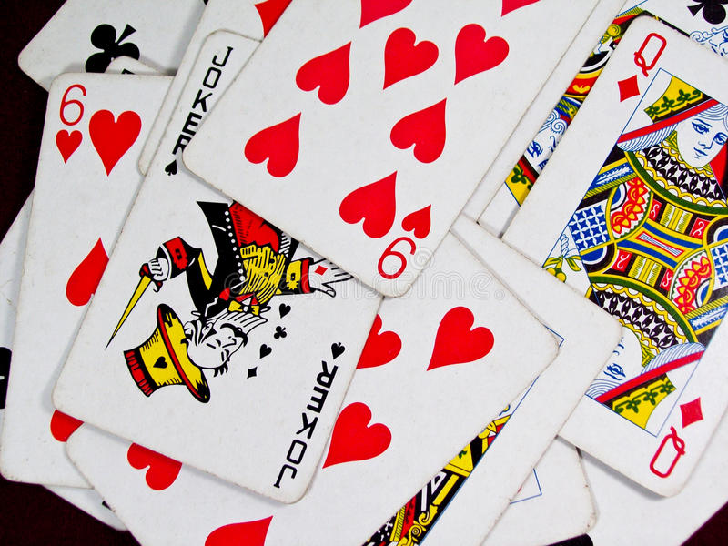 Download Playing Cards stock image. Image of isolated, nightclub - 10035113