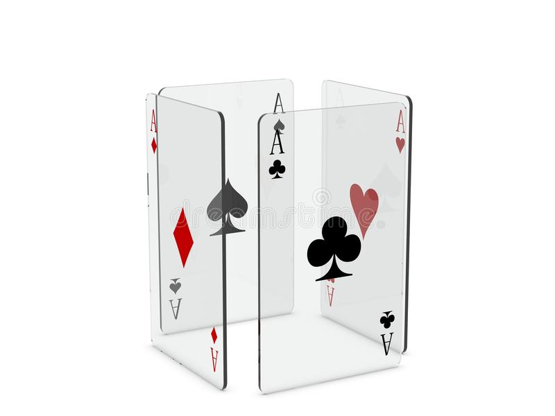 Download Playing cards stock illustration. Image of play, casino - 16859430