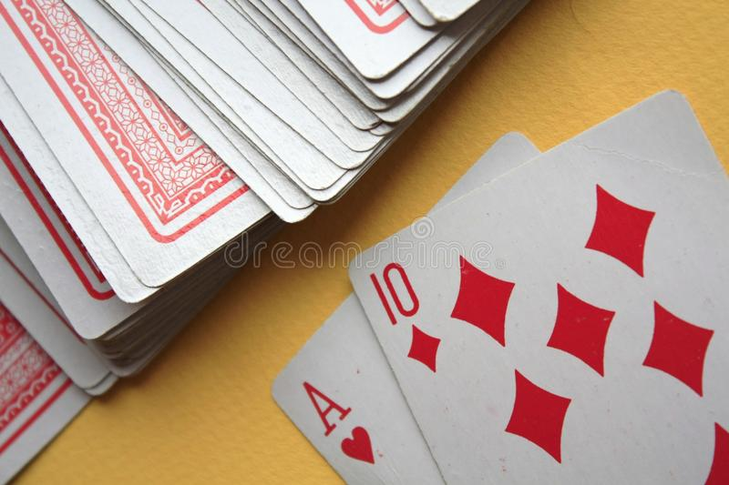 Download Playing cards stock image. Image of luck, hearts, gambling - 18708819