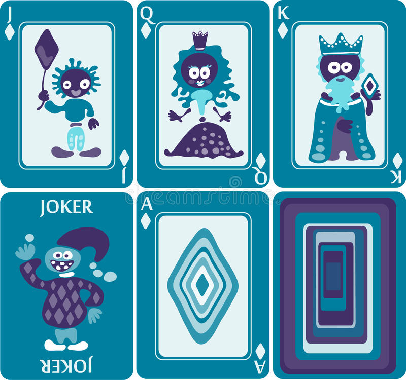 Free Playing Cards 2/8 Royalty Free Stock Photo - 27657045