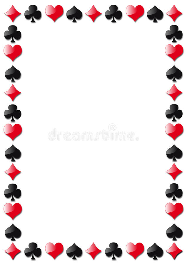 Download Playing cards stock vector. Illustration of club, heart - 20418087