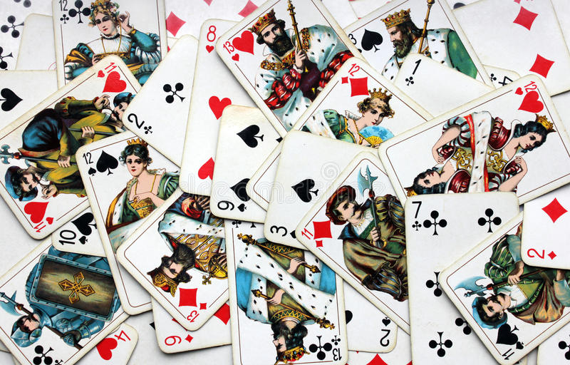 Download Playing Cards stock photo. Image of discarded, knave - 21257234