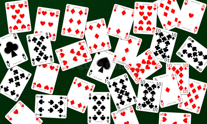 Download Playing Cards stock illustration. Illustration of full - 25654121