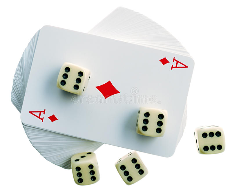 Download Playing-cards And Bones Royalty Free Stock Photo - Image: 10333905