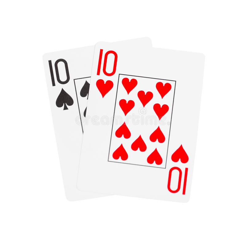 Playing cards. Isolated on a white background vector illustration