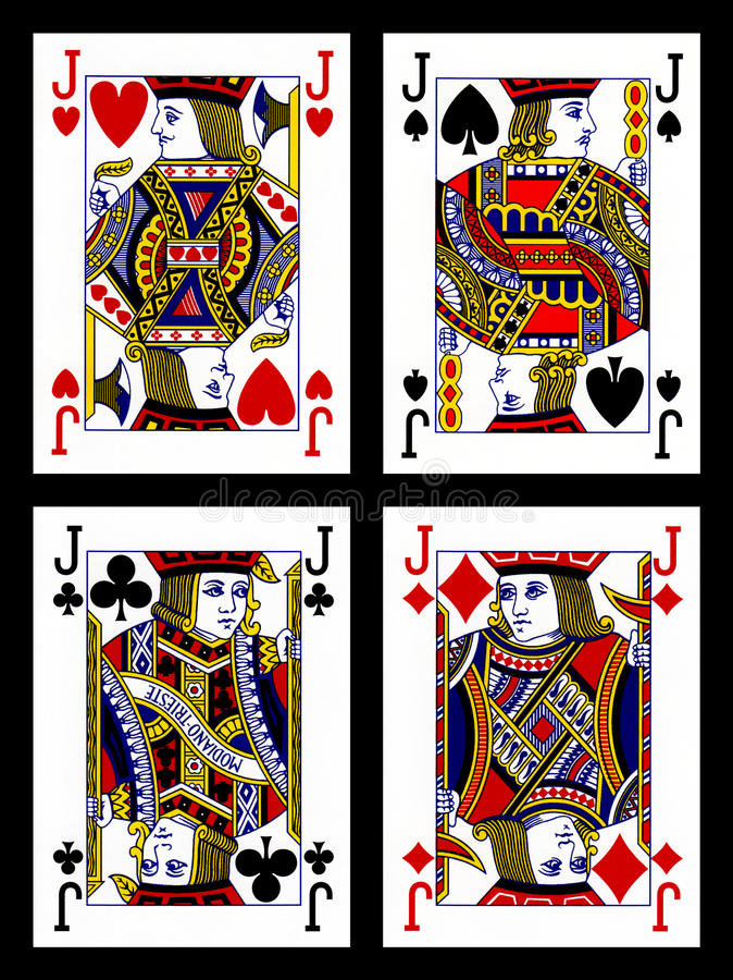 Download Playing cards - jacks stock image. Image of collection - 22464529