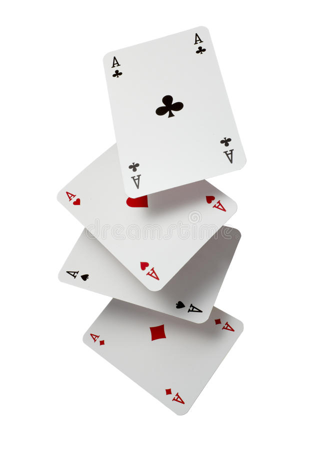 Playing cards poker gamble game leisure royalty free stock photos