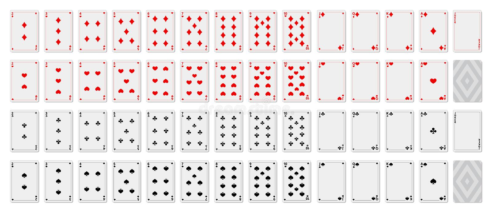 Game Cards Blank Stock Illustrations – 24 Game Cards Blank Stock Regarding Free Printable Playing Cards Template