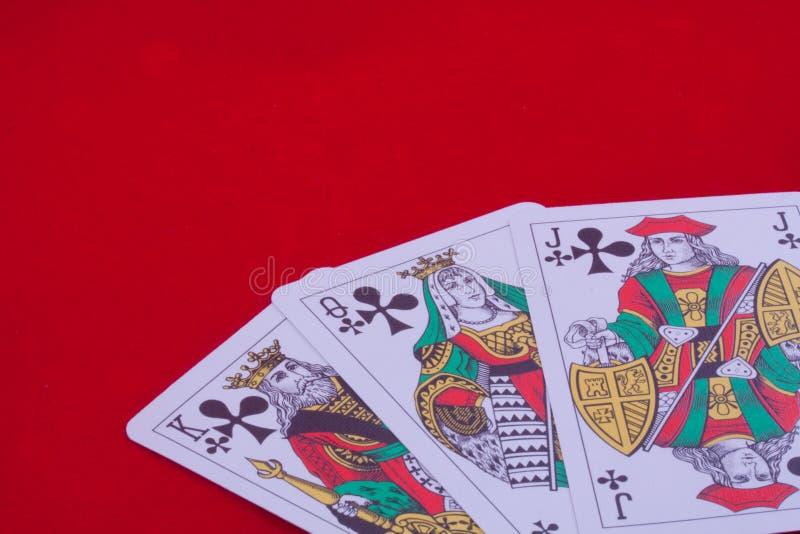 Playing Cards Spades Stock Photos