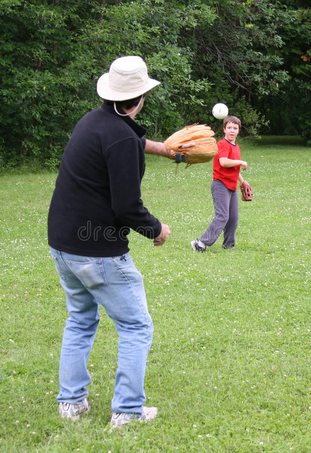 Download Playing catch stock image. Image of catch, green, game - 14993729
