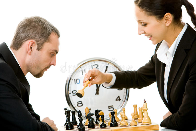 Download Playing chess stock photo. Image of game, competitive - 12214238