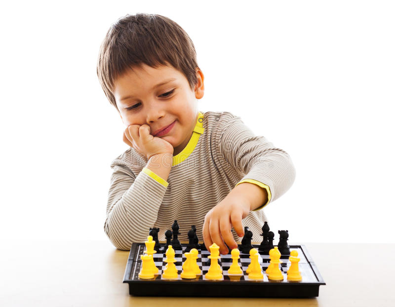Download Playing chess stock photo. Image of playing, white, competition - 34909250