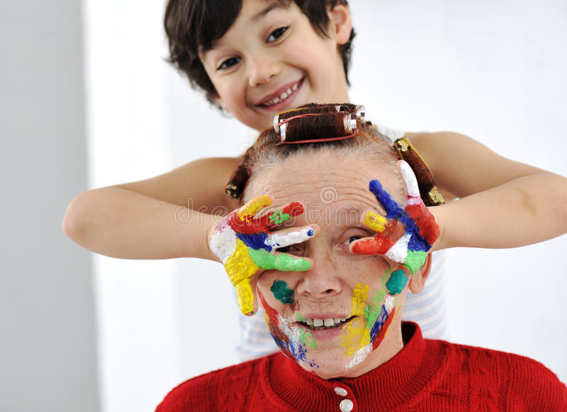 Download Playing With Colors At Home, Stock Photo - Image: 24517350