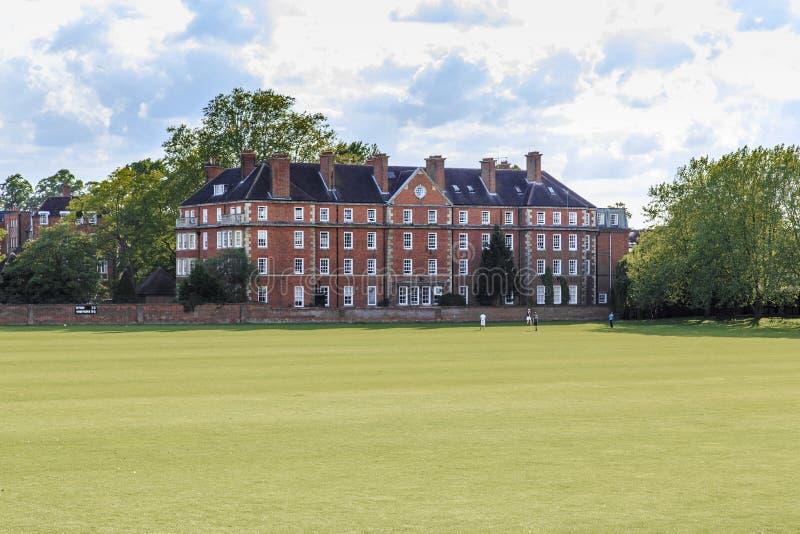 Playing Field, Eton College stock photo