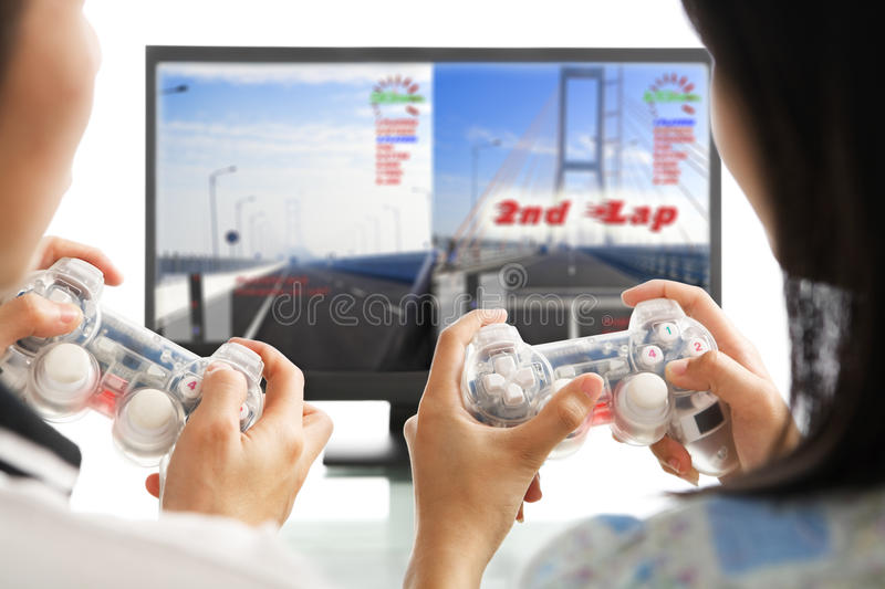 Download Playing game together stock image. Image of competition - 10940765