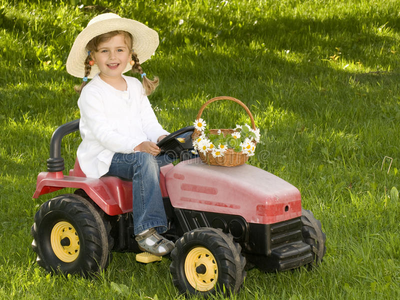 Download Playing in garden stock photo. Image of preschooler, childhood - 9489856
