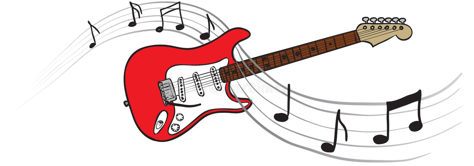 Download Playing guitar stock vector. Image of string, guitar - 18753038