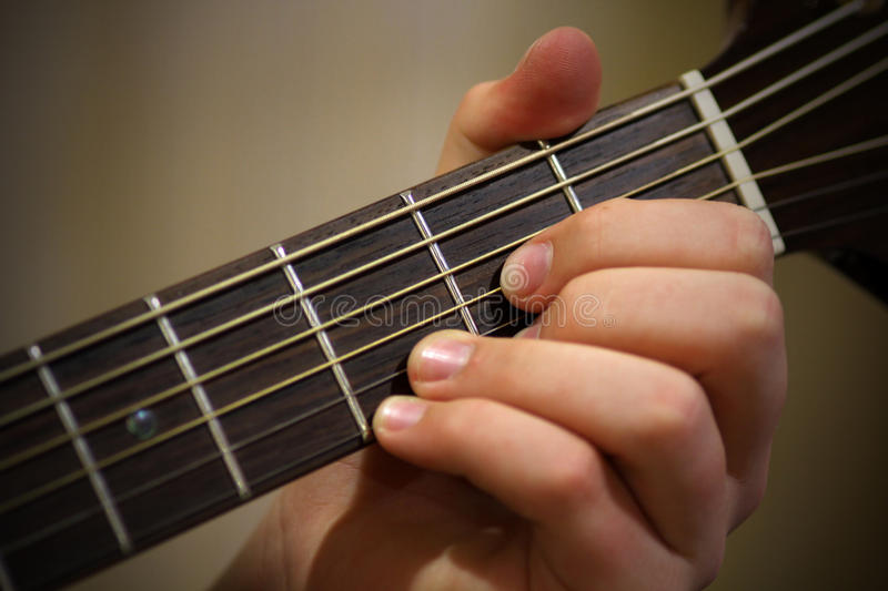 Download Playing guitar stock photo. Image of playing, neck, music - 28290532