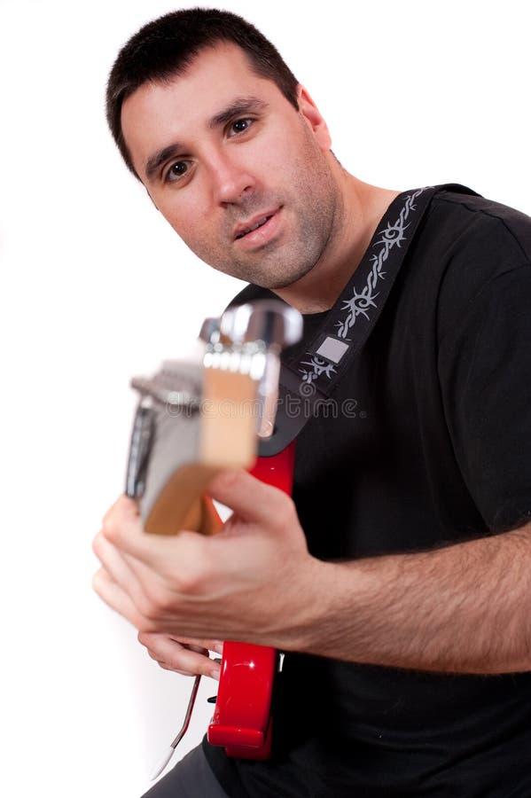 Free Playing Guitar Stock Photos - 29586283