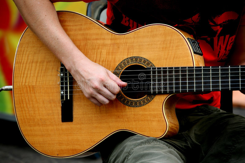 Download Playing The Guitar Royalty Free Stock Photo - Image: 3125275